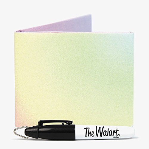 the diy rainbow bifold paper wallet by the walart souneq. Black Bedroom Furniture Sets. Home Design Ideas