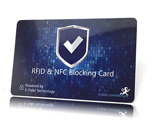 1 nfc schutzkarte reicht pro geldb rse gepr fter schutz f r kreditkarten ec karten. Black Bedroom Furniture Sets. Home Design Ideas