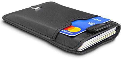 """710633b121e6c TRAVANDO ® Kreditkartenetui """"DALLAS"""" für bis zu 12 Karten"""