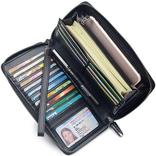 7fb48d6e618ce2 Portmonee Damen mit RFID Schutz Geldbeutel, Portemonnaie, Geldbörse,  Brieftasche, Damengeldbeutel, Damenbörse Damengeldbörse lang  Damenportemonnaie groß ...