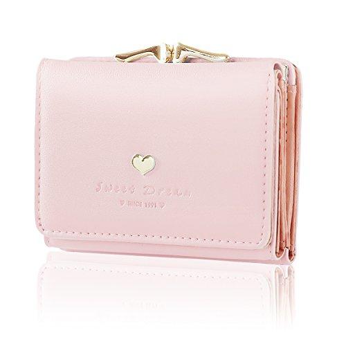 d24e95d2fe09b Geldbeutel Damen Leder Brieftasche